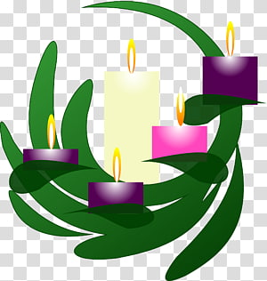 Advent Candle transparent background PNG cliparts free.