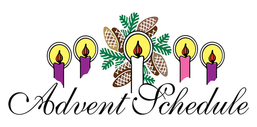 Advent wreath clipart 3.
