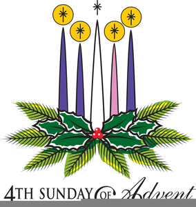 Th Sunday Of Advent Clipart.
