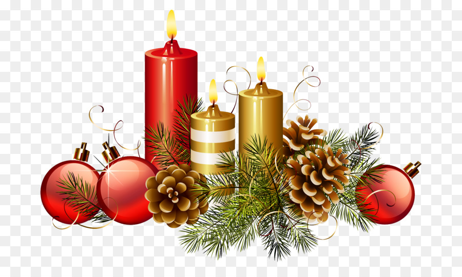 Advent candle Christmas Day Clip art Christmas decoration.