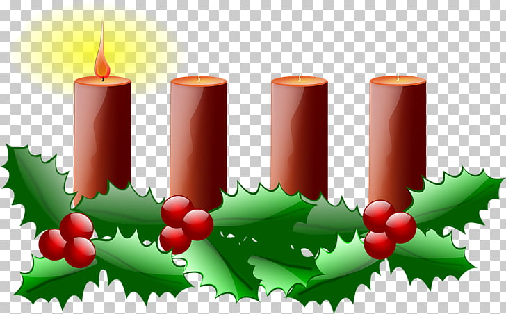 Advent Sunday Advent wreath , Church Candles PNG clipart.