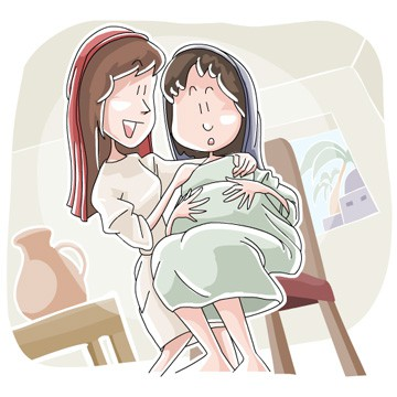 Advent Sunday School Lesson: Elizabeth & the Birth of John.