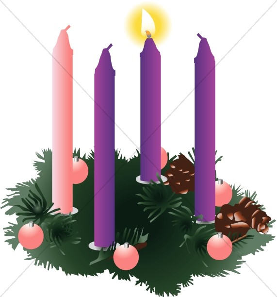 Christian Symbols Clipart for Advent.