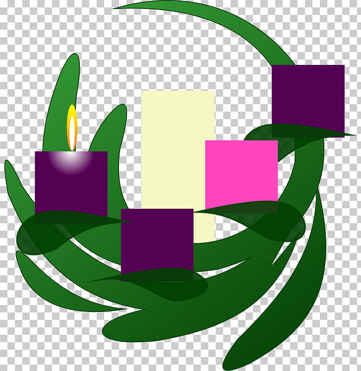 Advent wreath Advent candle Advent Sunday , candles PNG.