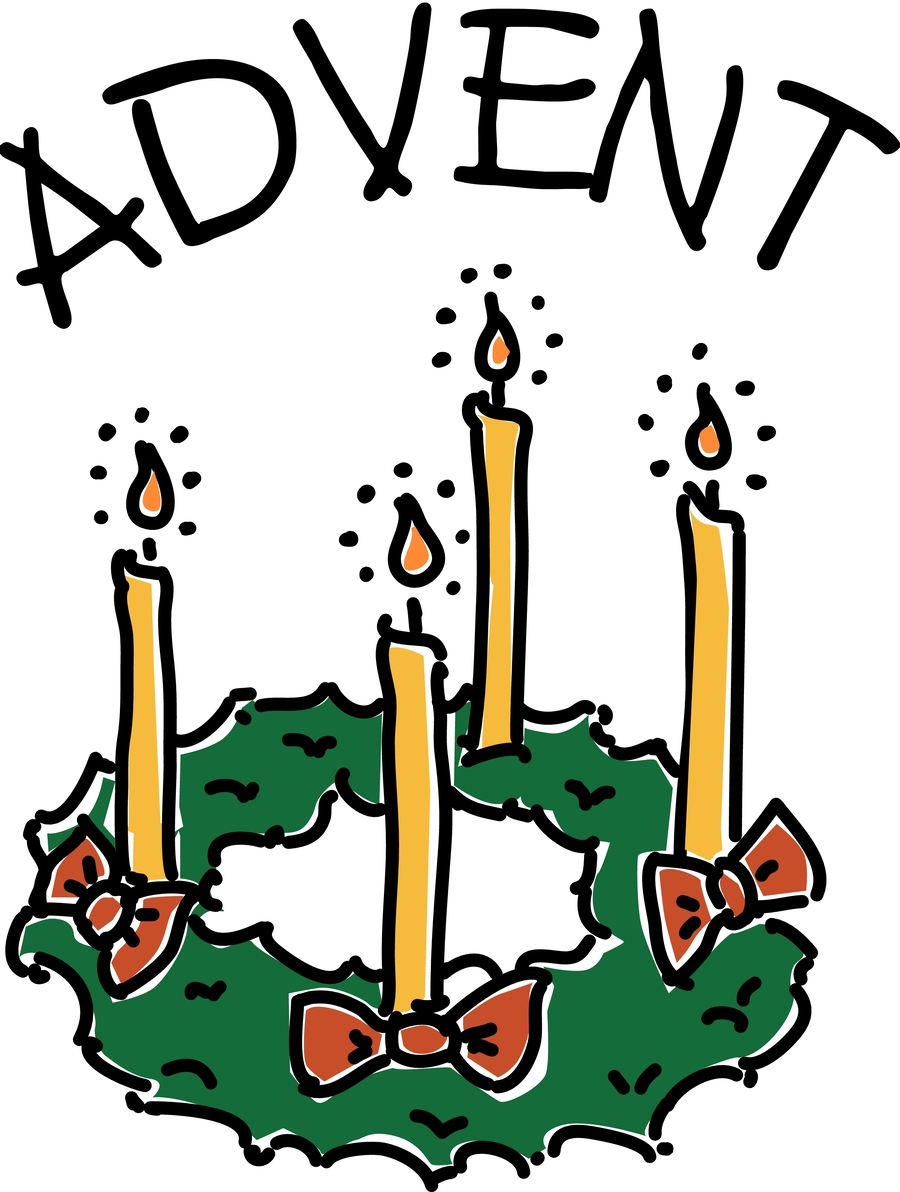 Download advent candles clip art clipart Advent wreath Advent candle.
