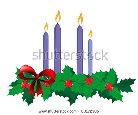 Advent Wreath Stock Photos, Royalty.