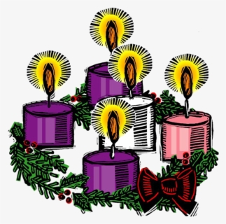 Free Advent Wreath Clip Art with No Background.