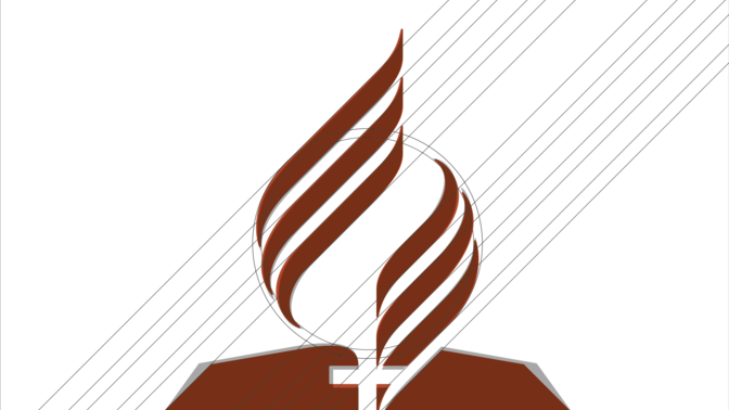 Updated Adventist Church logo approved.