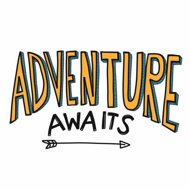 Best Adventure Awaits Illustrations, Royalty.