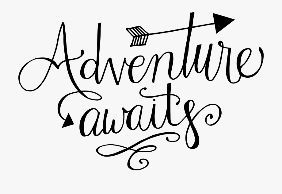 Hand Lettered Adventure Awaits Free Svg Cut File.