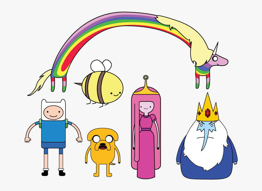 Adventure Time Clipart Main Character.