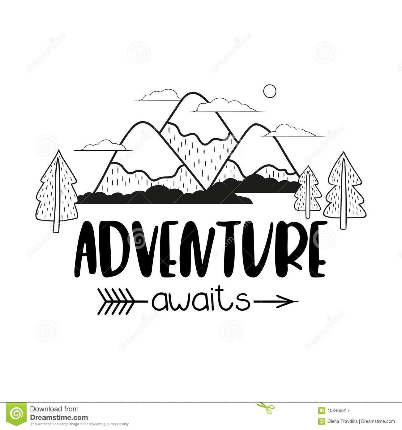 Adventure clipart black and white » Clipart Portal.