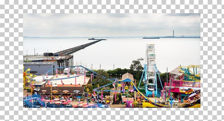 Adventure Island Southend Pier Amusement park Stock.