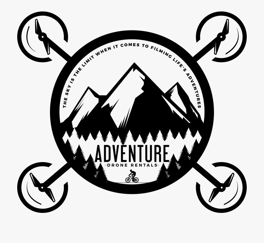 Split Outdoor Adventure Logo, Cliparts & Cartoons.