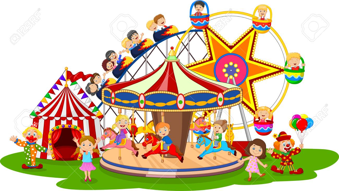 Amusement clipart adventure park Transparent pictures on F.