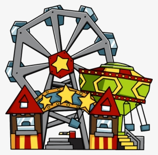 Free Amusement Park Clip Art with No Background.