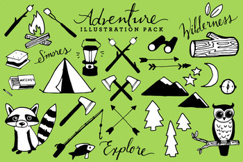 Adventure & Camping Clipart.