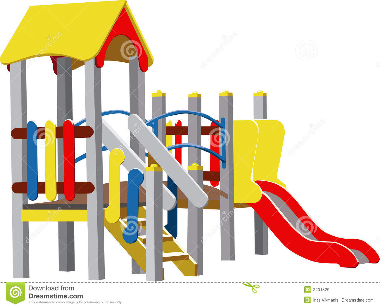 Playground clipart vector.