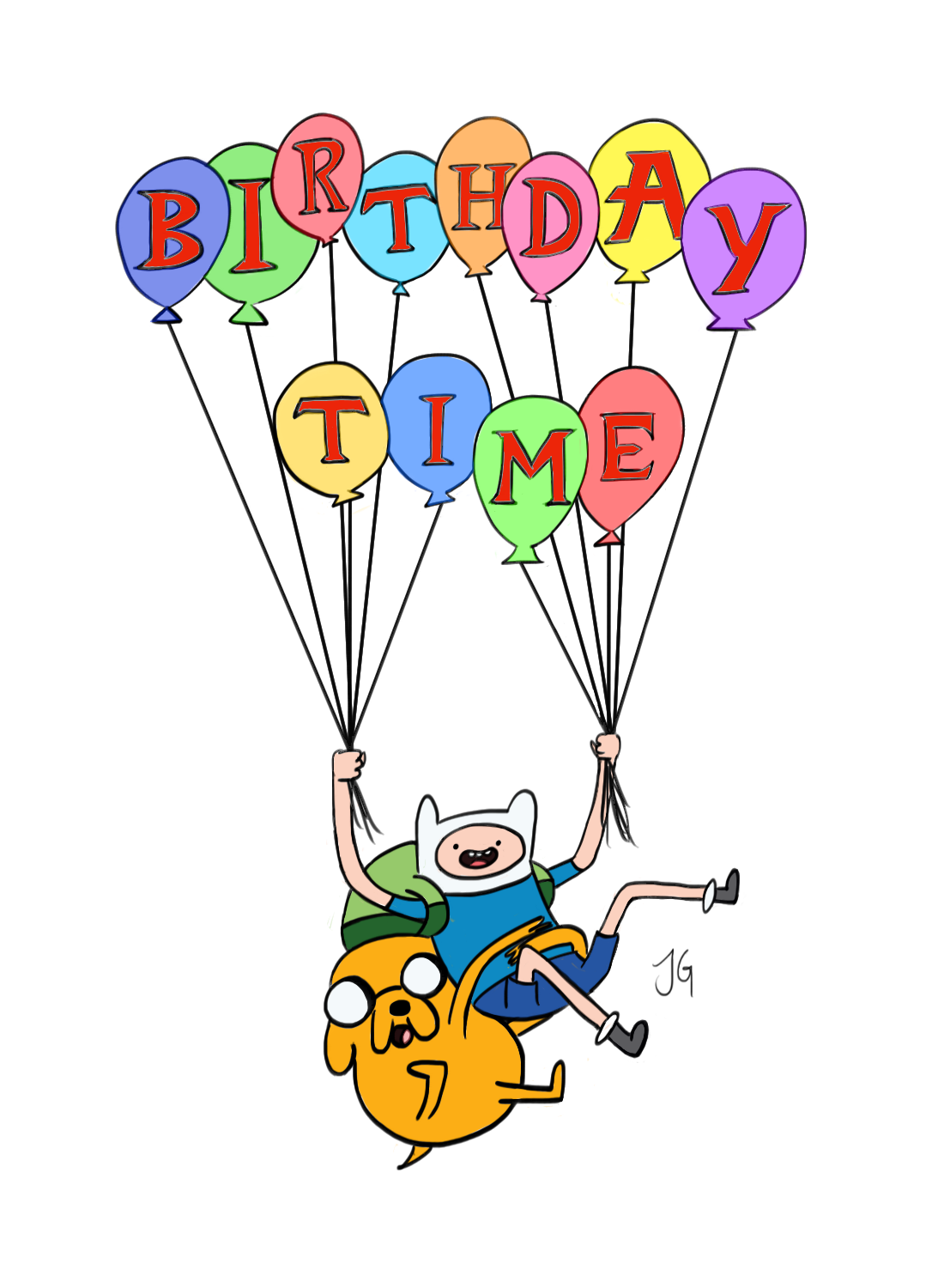 Adventure Time! Birthday Time by flyingscorpions on DeviantArt.