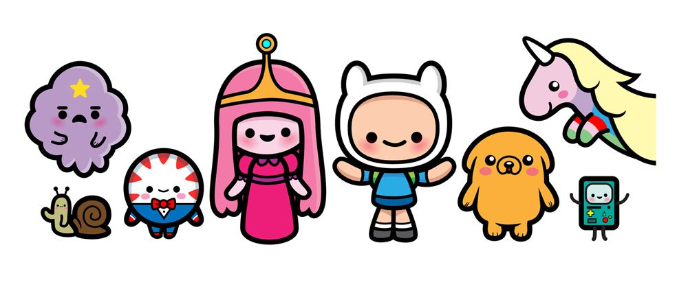 Adventure Time in 2019.