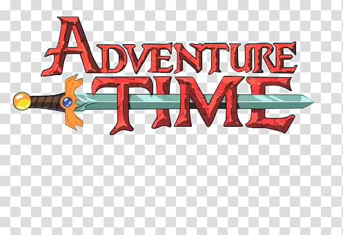 Adventure Time Render, Adventure Time logo illustration.