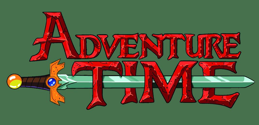 Adventure Time Logo transparent PNG.