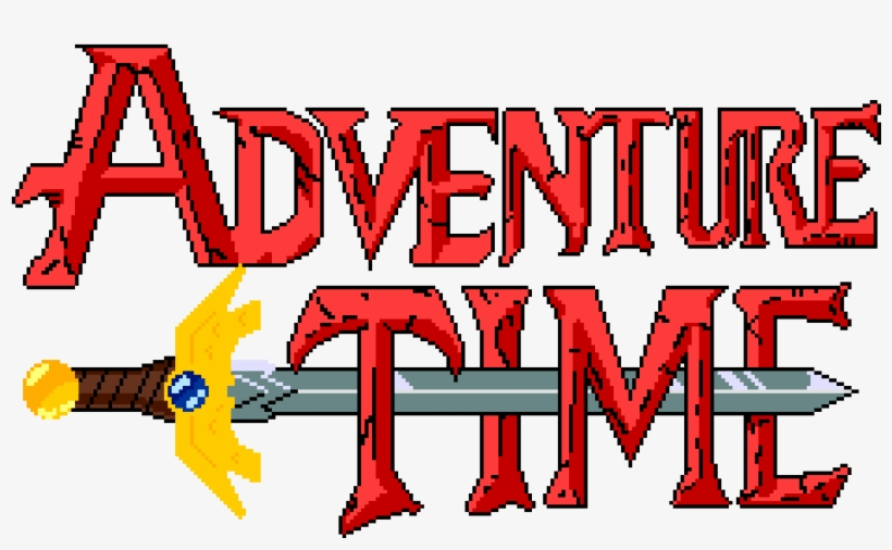 Adventure Time Logo Png PNG Image.