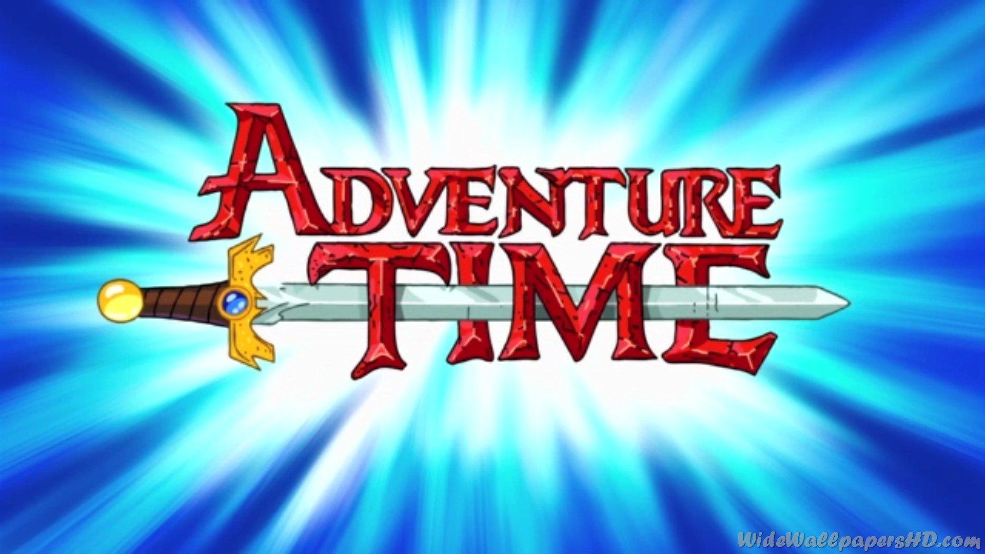 Adventure time Logos.
