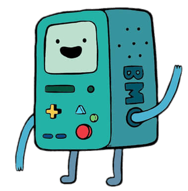 Adventure Time BMO Beemo Waving transparent PNG.