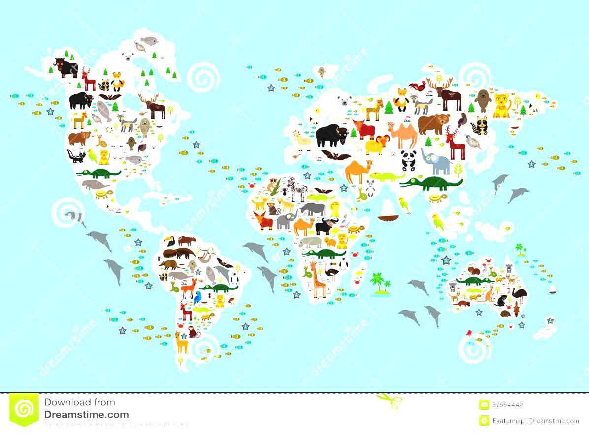Clipart for children animal world.