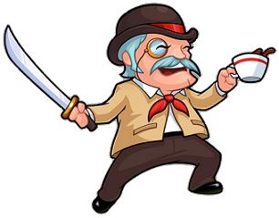 Doesn't seem very gentlemanly: Gentleman Adventurer.
