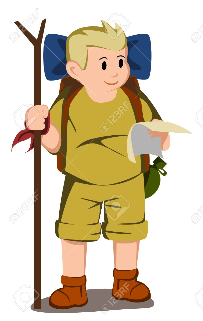 Adventurer Kids Royalty Free Cliparts, Vectors, And Stock.