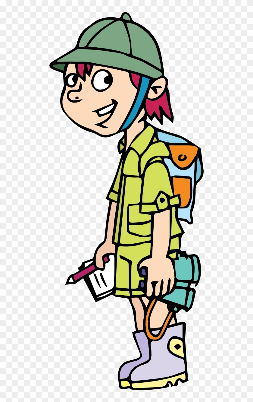 Adventure Clipart Adventurer Pencil And In Color.