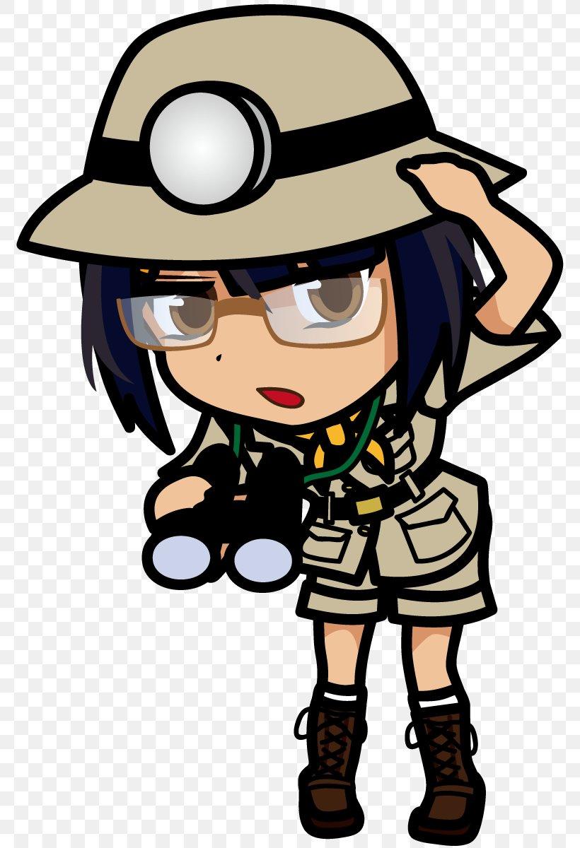 Illustration Character Explorer Woman Exploration, PNG.