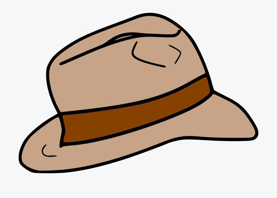 Fedora Clipart Adventure Hat.