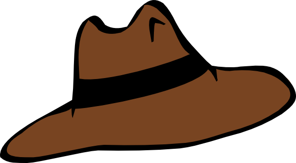 Adventurer Hat clip art.
