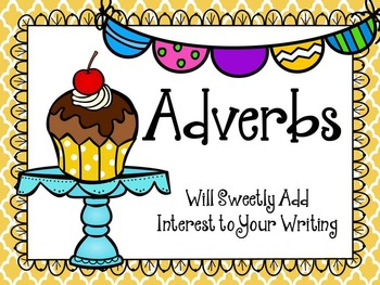 Adverbs PowerPoint Lesson and Activity Pages.