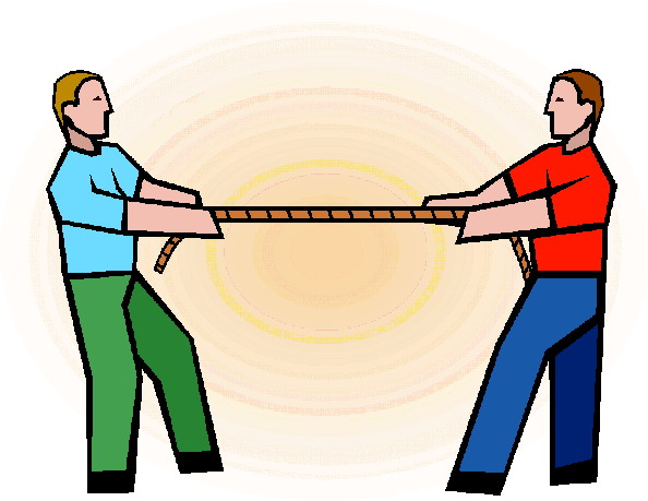 Tug Of War Clipart.