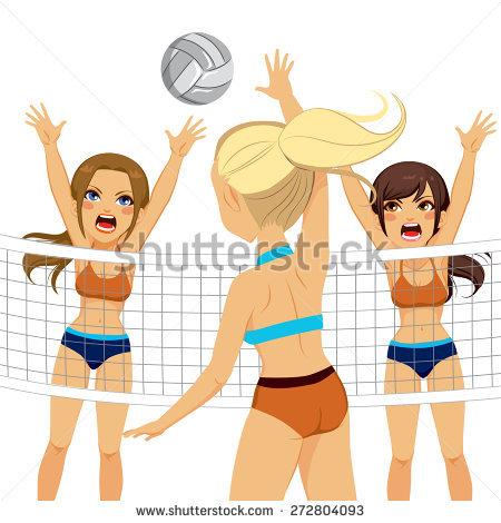 Volleyball Dig Stock Vectors & Vector Clip Art.