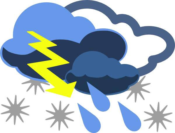 Clip art of weather.