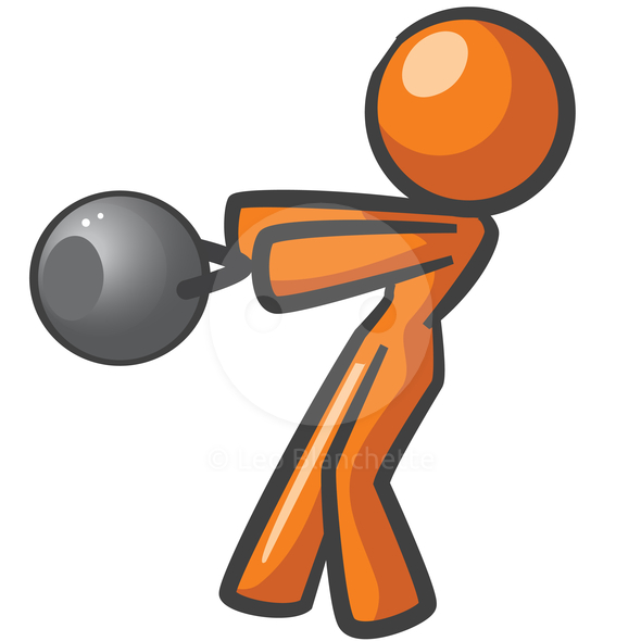 ClipArt Illustration of person.
