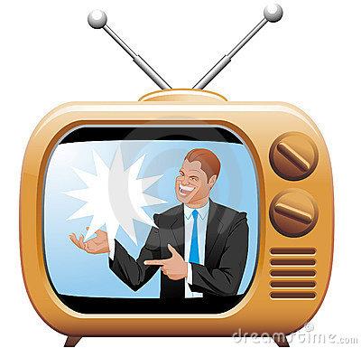 Tv Advertisement Clipart.
