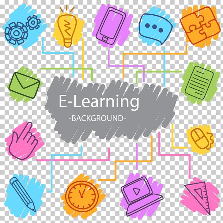 Digital learning Digital data Icon, Digital Learning.