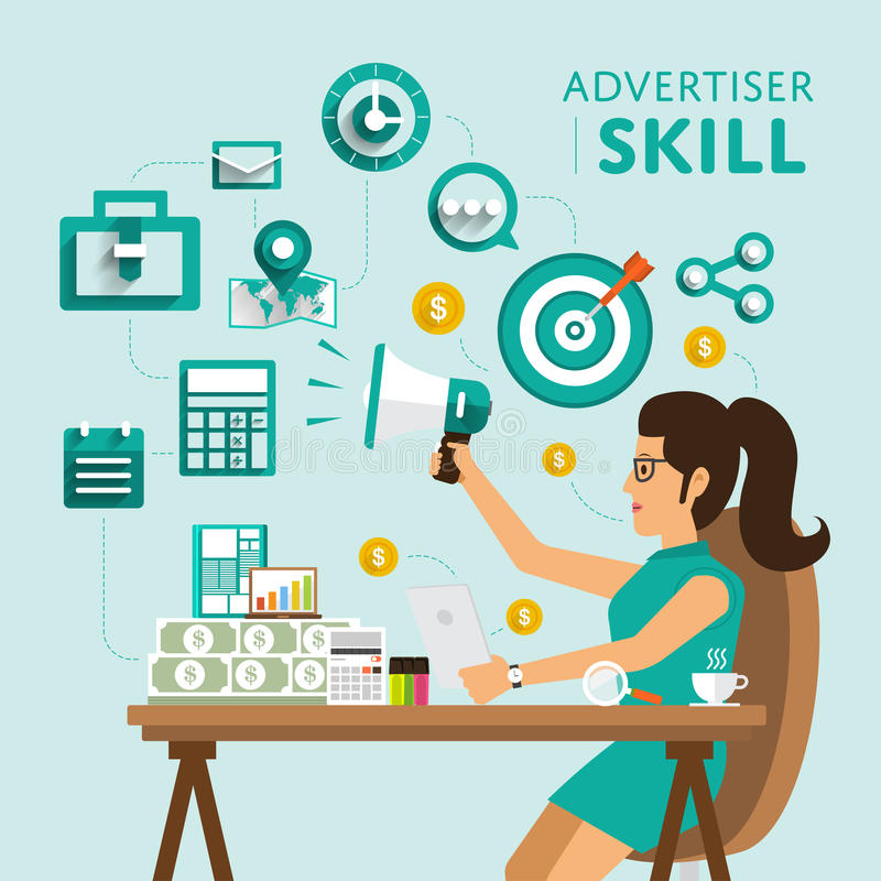 Skill People Stock Vector. Illustration Of #218049.