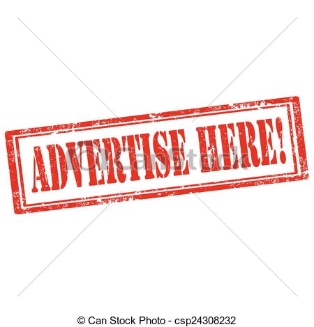 Vectors of Advertise Here!.