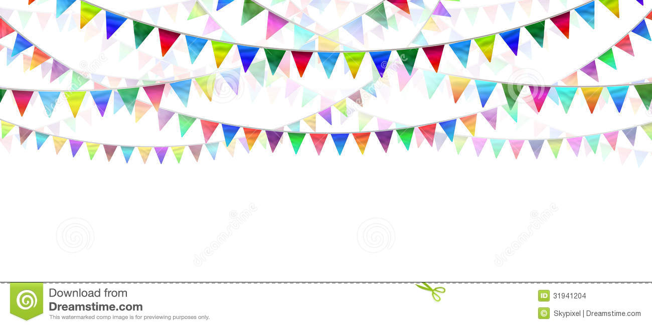 Bunting Flags Stock Images.