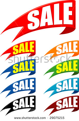 Sale Flags.