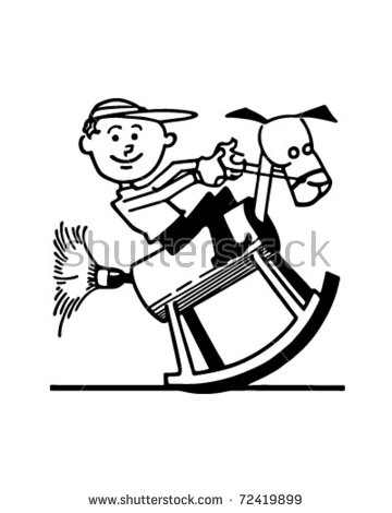Happy Plumber Retro Clip Art Stock Vector 56686591.
