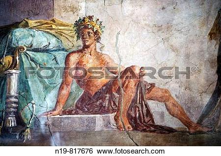 Stock Images of Aldobrandini Wedding (Roman fresco dating from the.