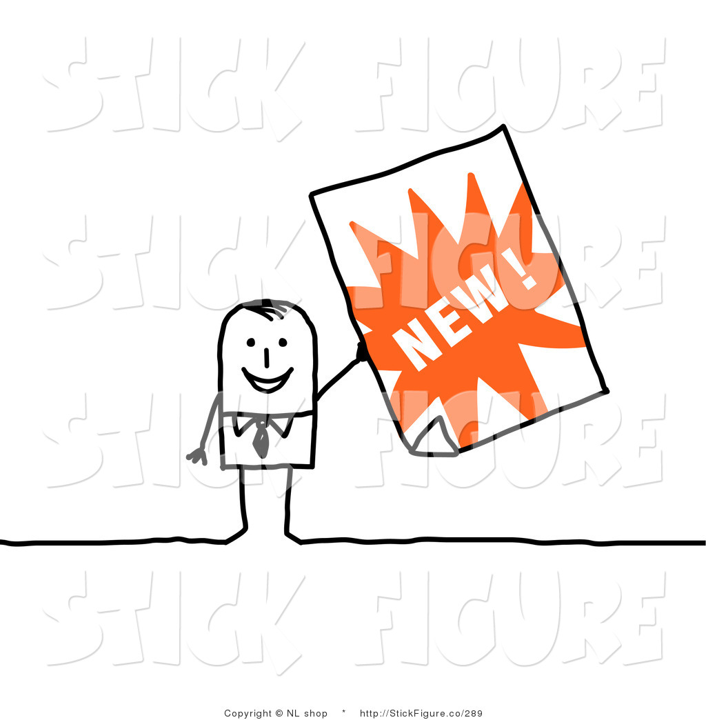 Royalty Free Advertising Stock Stick Figure Designs.